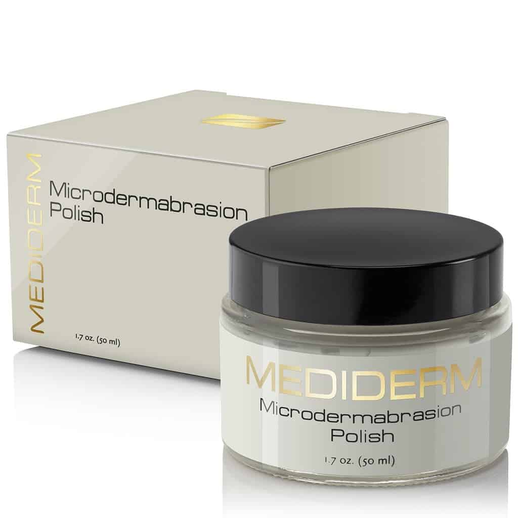 MediDerm Microdermabrasion Polish and Exfoliating Cream With Packaging Cover