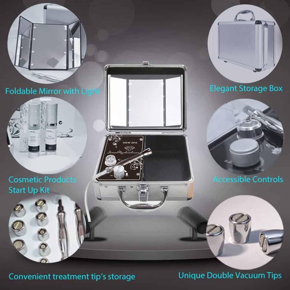 Benefits of diamond microdermabrasion portable machine