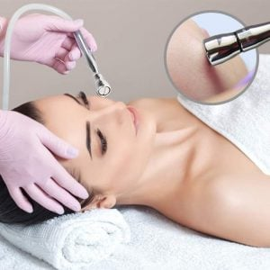 Demonstration Of Skin Care Equipment Used For The New Spa Home Microdermabrasion Portable Machine