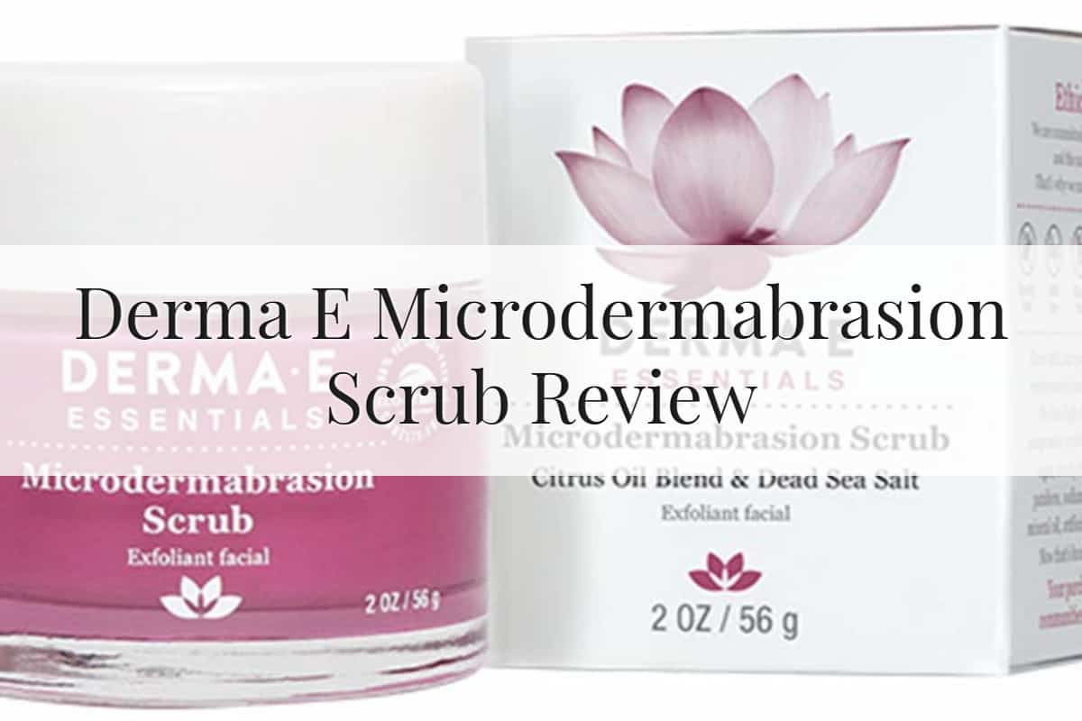 Derma E Microdermabrasion Scrub Feature Image