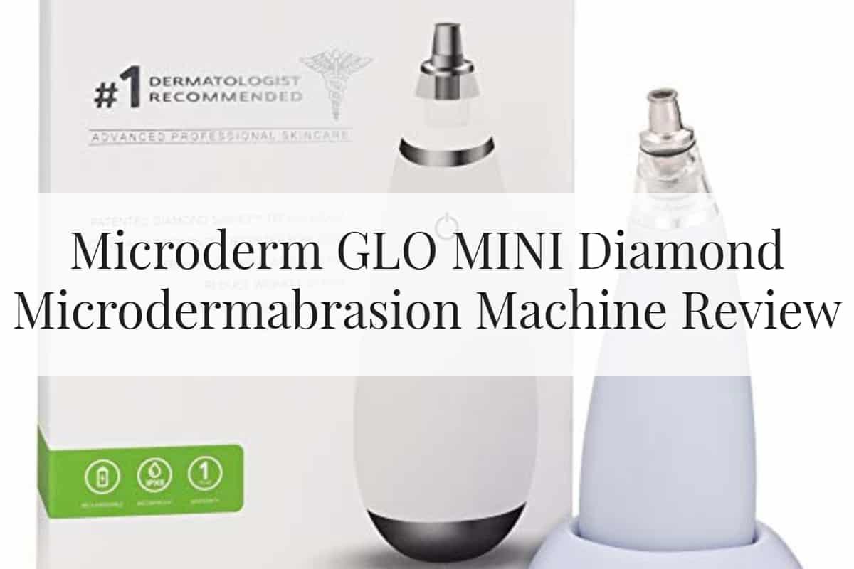 Microderm GLO MINI Diamond Microdermabrasion Machine Feature Image