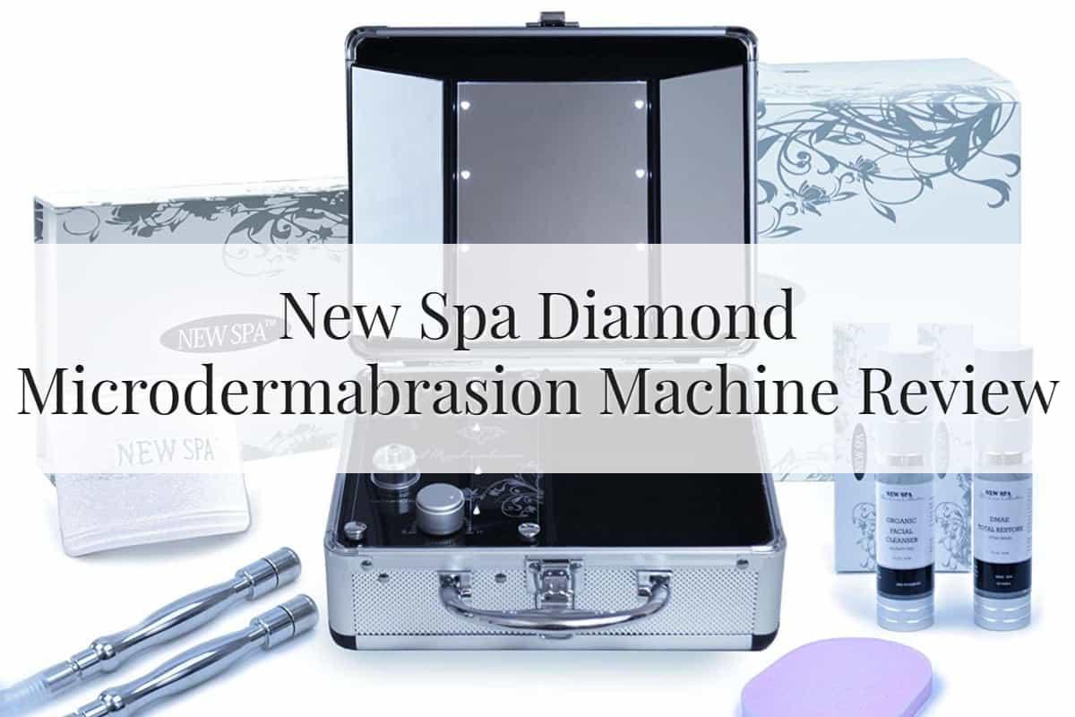 New Spa Diamond Microdermabrasion Machine Feature Image