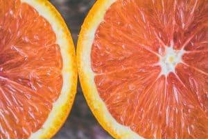 Close up of citrus fruit
