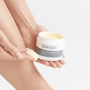 Try out the micro-dermabrasion paste texture from R&F