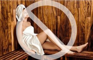 No Sauna