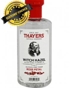 Thayers Rose Petal Witch Hazel Is Editor's Choice