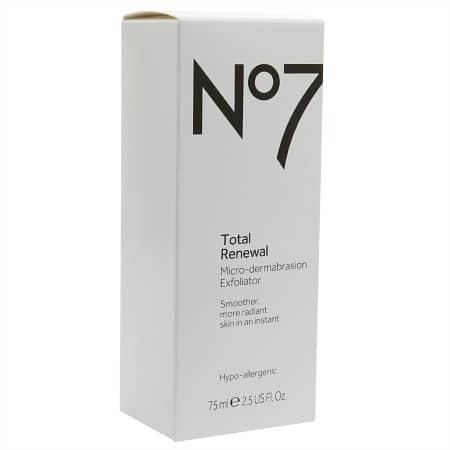 No7 Exfoliator Unopened Package