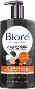 Biore Charcoal Acne Clearing Cleanser