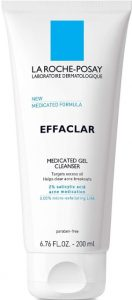 La RochePosay Effaclar Medicated Gel Cleanser