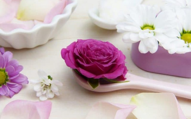 flower as natural organic product