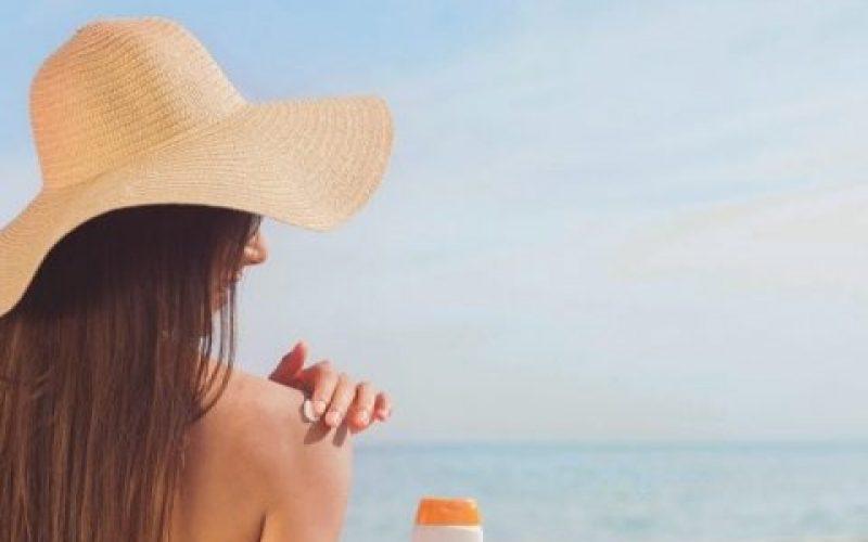 relaxing beach shot