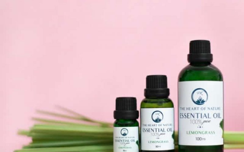small medium large bottles of essential oil